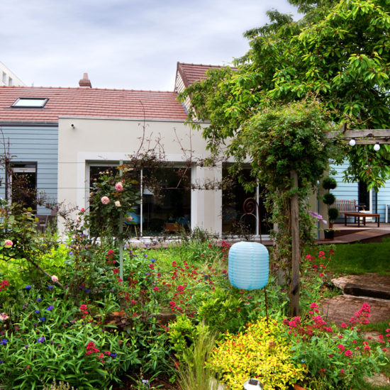 Patrick Perron portfolio extension, liaison entre deux maisons