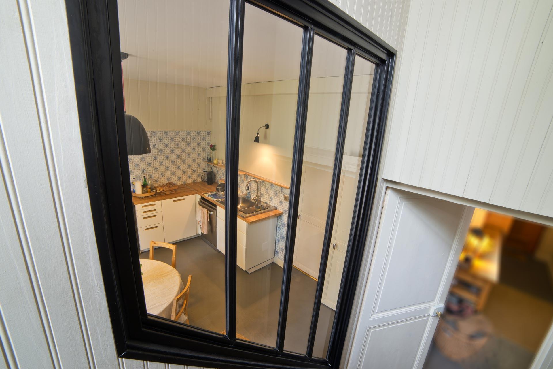 Aménagement intérieur baie, atelier cuisine