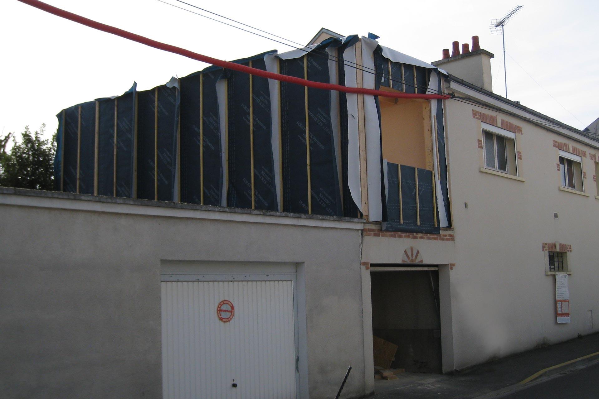 Toit terrasse & combles aménagés