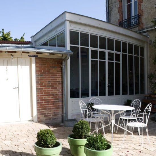 Extension, un style orangerie