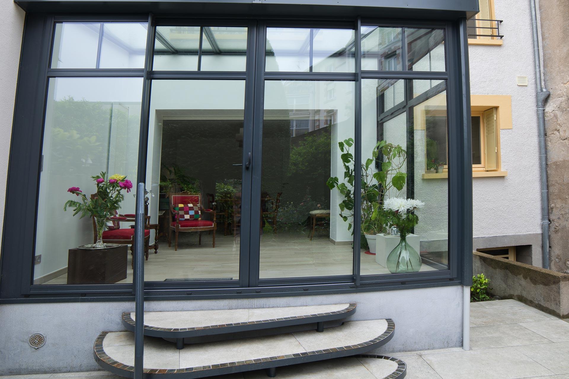 Extension, vitrée & ravalement