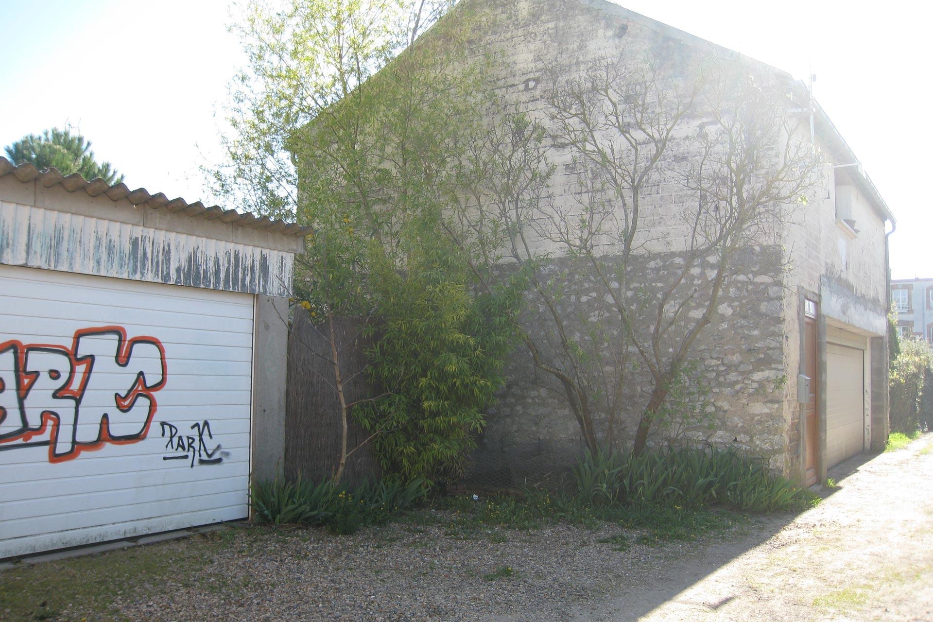 Garage surélevé